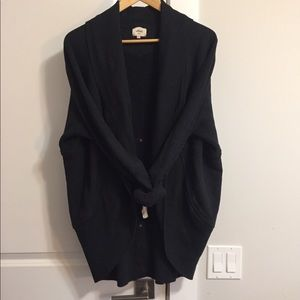 Wilfred Diderot Black Cocoon Cardigan